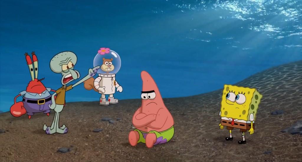 Spuži na suhem (The SpongeBob Movie: Sponge Out of Water, rež. Paul Tibbitt & Mike Mitchell, 2015)