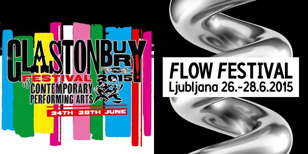 Spremljajte v živo Flow Festival (Val202) in Glastonbury Festival (BBC)
