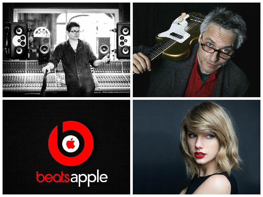 Diskusija o avtorskih pravicah in še čem: med S. Albinijem in M. Ribotom | Problematika: Apple Music
