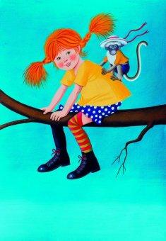 Pri nas nov prevod Pike Nogavičke, v tujini pa dve novi knjigi o Astrid Lindgren