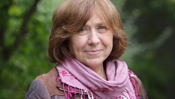 Nobelova nagrajenka za književnost je Svetlana Aleksijevič