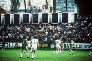 Reporterske kabine iz K67 na stadiunu Kantrida, Rijeka; foto: osebni arhiv Saša J. Mächtig