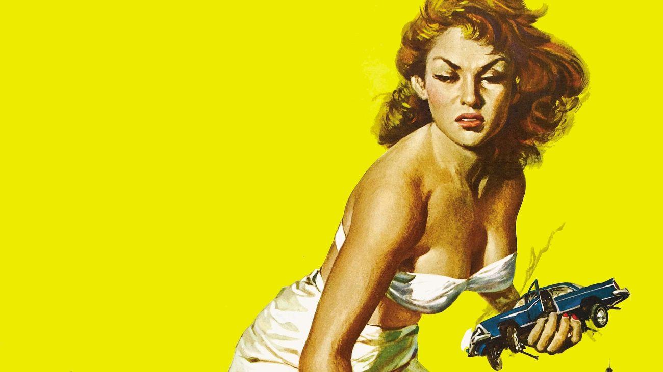 Kurja polt: Napad velikanke (Attack of the 50 Foot Woman, 1958)