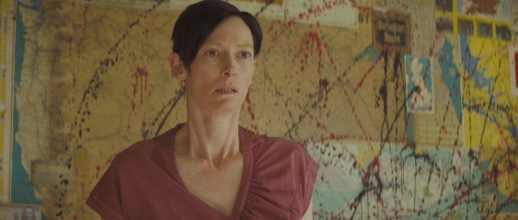 Tilda Swinton kot Eva Katchadourian.