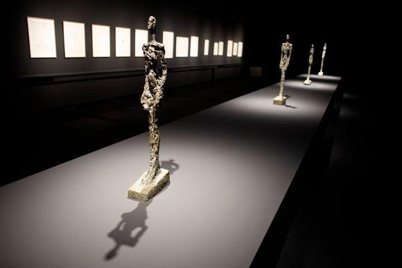 Alberto Giacometti: skulpture, risbe, litografije