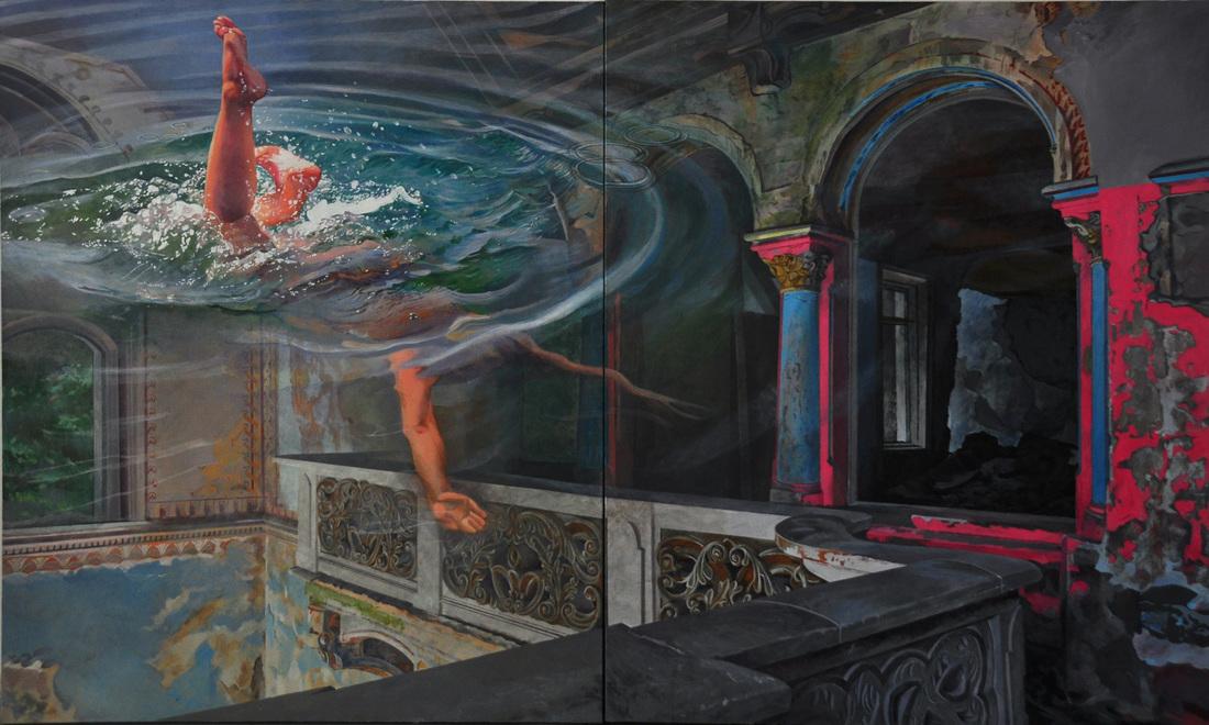 Ivana Živić: Vzdušje podvodne realnosti