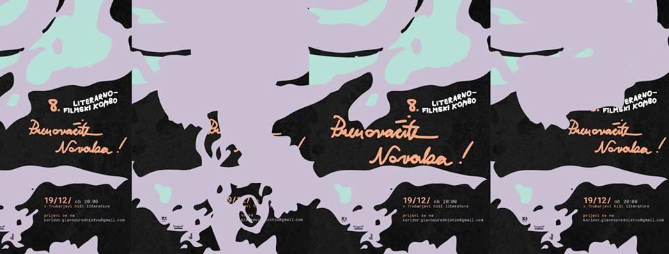 8. literarno-filmski kombo: Prenovačite Novaka @THL, 19. 12. ob 20:00