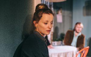 Tih vdih: Ajda Smrekar (Foto: Peter Giodani)