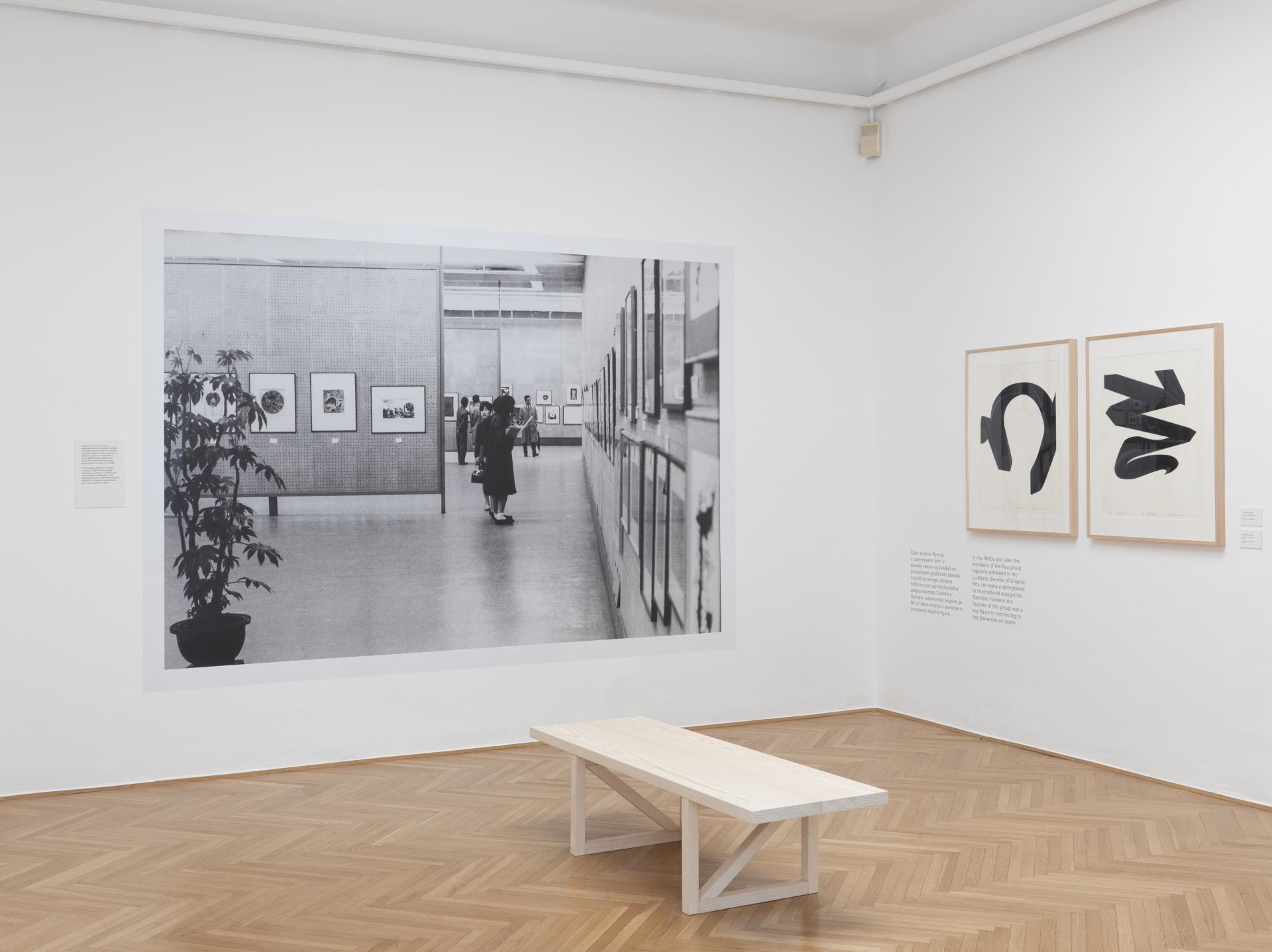Fotografske podobe in materialnost: japonska grafika v sedemdesetih letih 20. stoletja & Japonska, Jugoslavija, grafični bienale: dokumenti sodelovanja