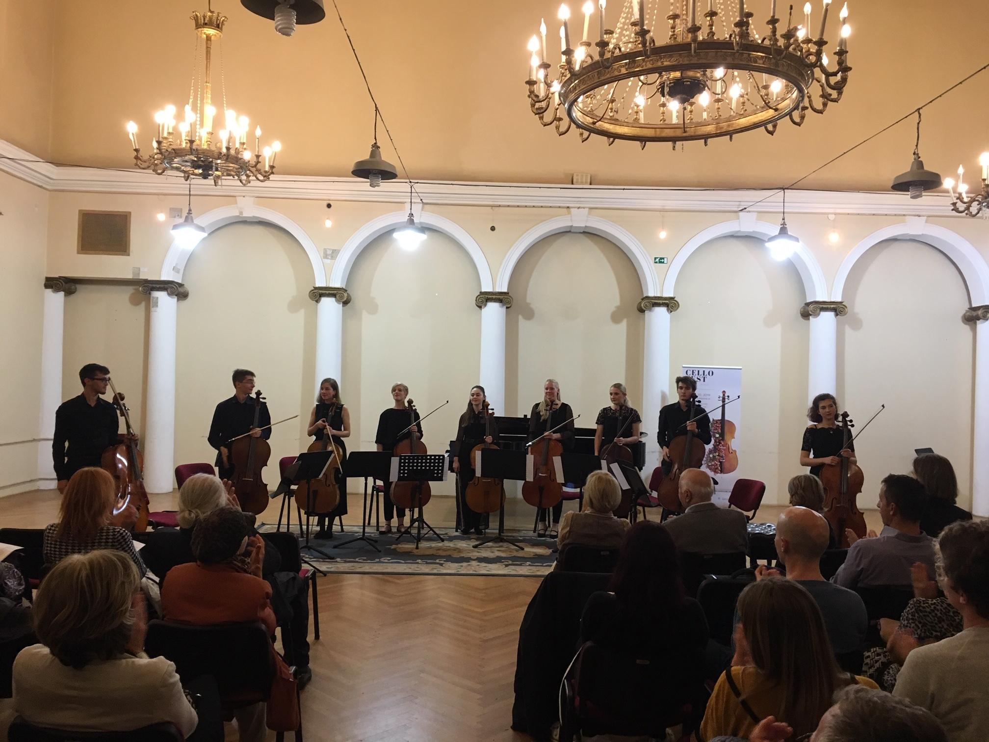 Cellofest Ljubljana: Nova dela za violončelo @Palača Kazina, 20. 10. 2019