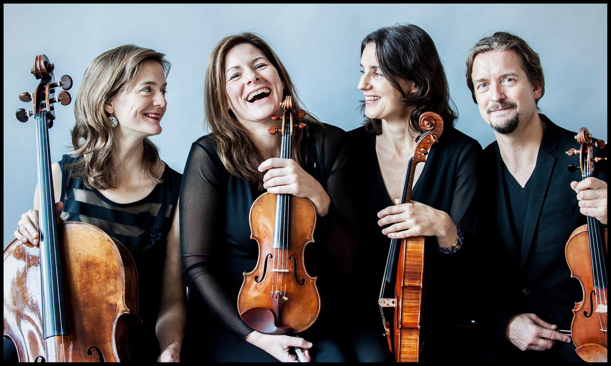 Srebrni abonma: Godalni kvartet Tetzlaff @Slovenska filharmonija, 14. 1. 2020