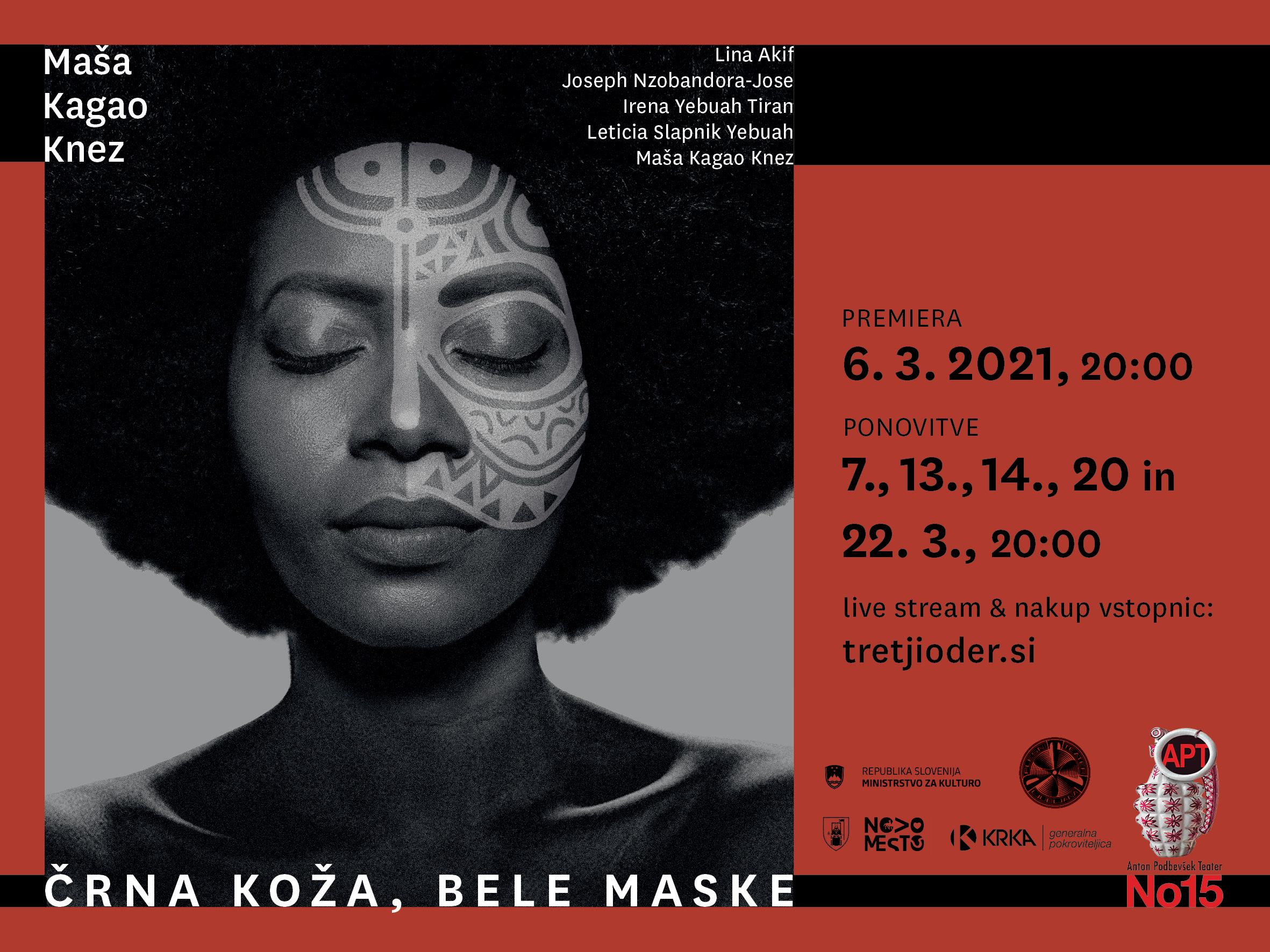 Črna koža bele maske , Foto: Barbara Čeferin